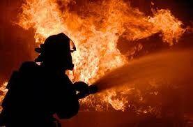 ओखला के गोदाम में लगी आग