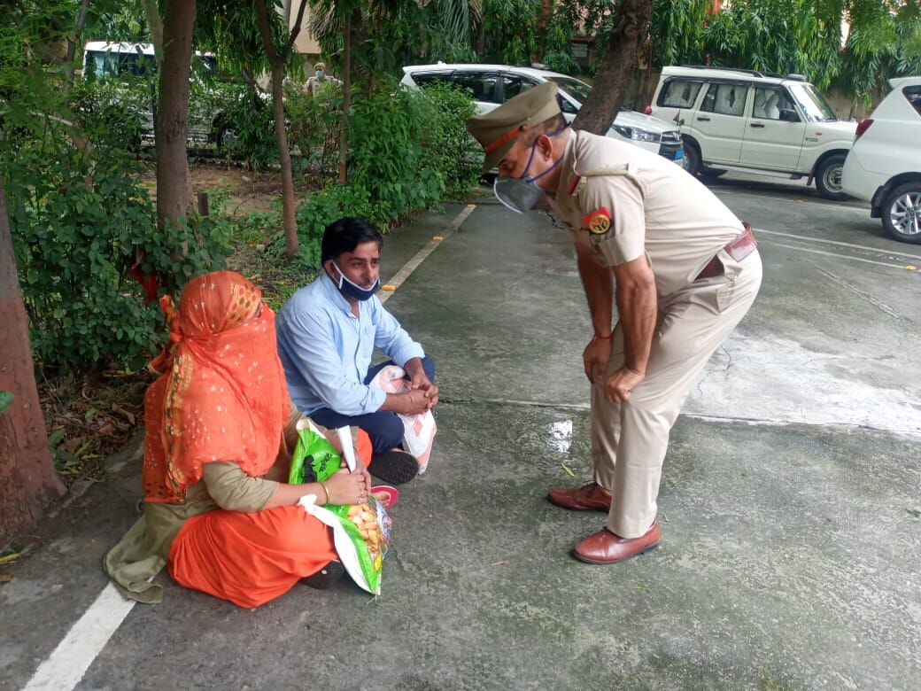 मुजफ्फरनगर में एसएसपी कार्यालय पर महिला की हरकत से मचा हड़कम्प!