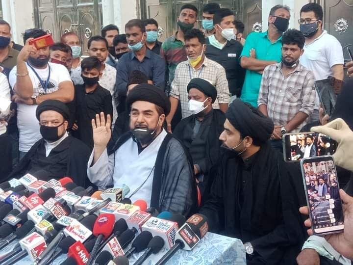 शिया धर्मगुरुओ के बेमियादी धरने के बाद सरकार बैकफुट पर