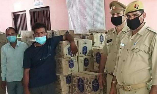 मुजफ्फरनगर में पकड़ी 10 लाख की अवैध शराब, दो तस्कर दबोचे