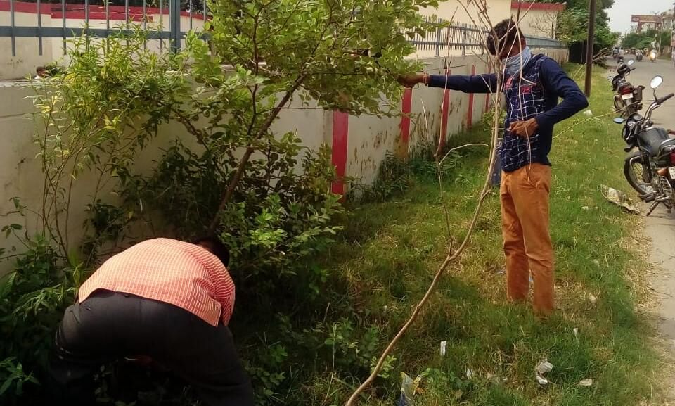 पालिकाध्यक्ष ने चलवाया मंडी समिति रोड पर सफाई अभियान