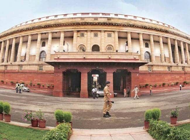 संसद भवन के पास  संदिग्ध कश्मीरी  के पकडे जाने सनसनी