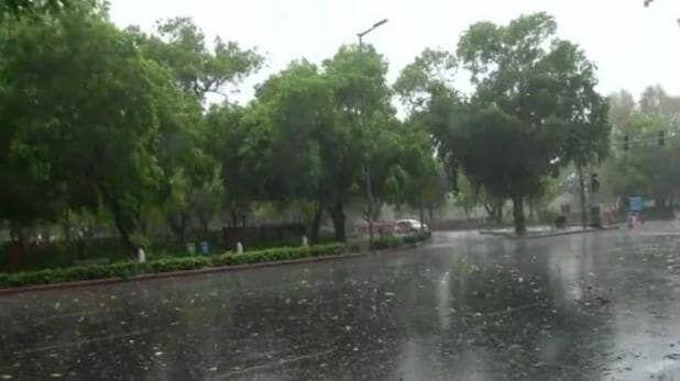 मुजफ्फरनगर में रिमझिम बारिश से मौसम हुआ सुहावना