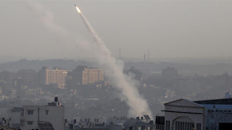 हमास के ठिकानों पर इजरायल सेना ने किए हवाई हमले